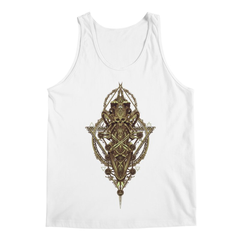 SYMBOLIC - Gold Edition Men's Tank by HEXAD - Art and Apparel