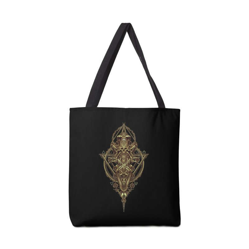 SYMBOLIC - Gold Edition Accessories Bag by HEXAD - Art and Apparel