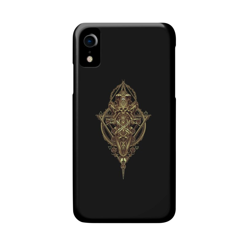 SYMBOLIC - Gold Edition Accessories Phone Case by HEXAD - Art and Apparel