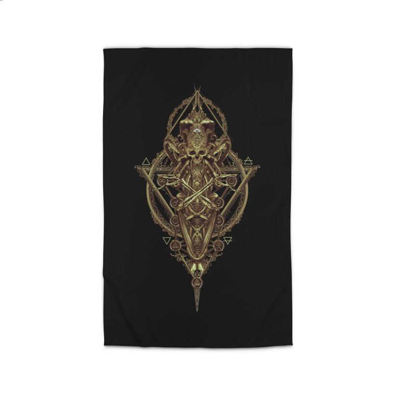 SYMBOLIC - Gold Edition Home Rug by HEXAD - Art and Apparel