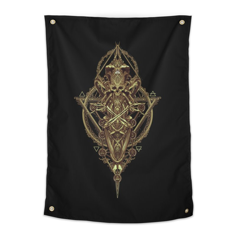 SYMBOLIC - Gold Edition Home Tapestry by HEXAD - Art and Apparel