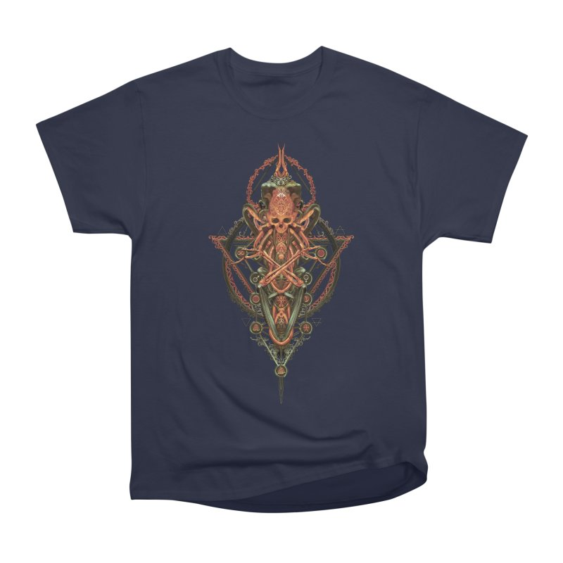 SYMBOLIC - Molten Metal Edition Women's Heavyweight Unisex T-Shirt by HEXAD - Art and Apparel