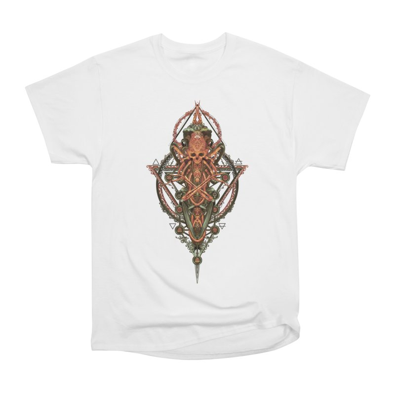 SYMBOLIC - Molten Metal Edition Men's Heavyweight T-Shirt by HEXAD - Art and Apparel