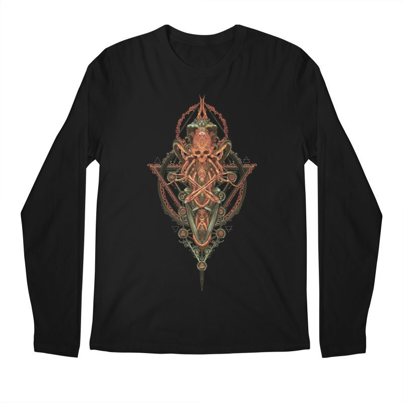 SYMBOLIC - Molten Metal Edition Men's Regular Longsleeve T-Shirt by HEXAD - Art and Apparel