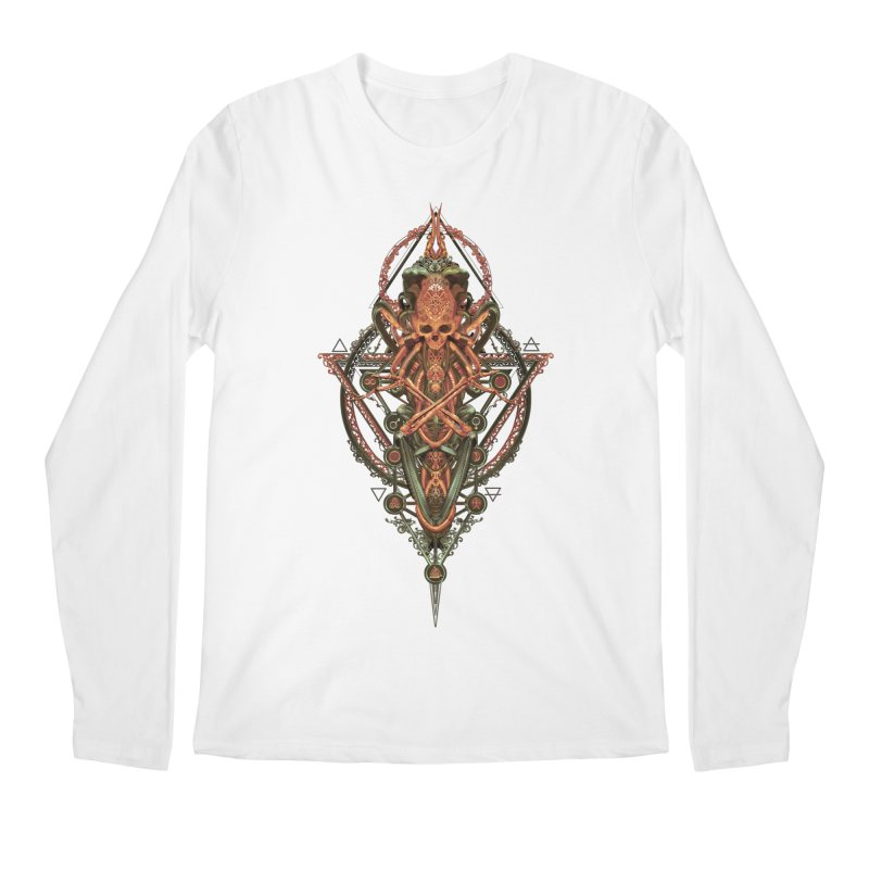 SYMBOLIC - Molten Metal Edition Men's Longsleeve T-Shirt by HEXAD - Art and Apparel