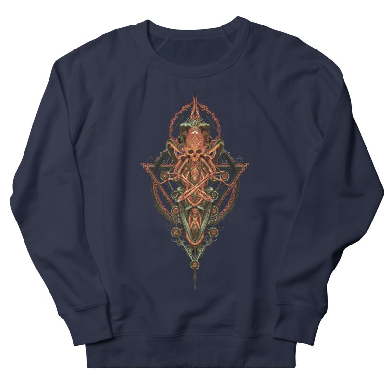 SYMBOLIC - Molten Metal Edition Women's Sweatshirt by HEXAD - Art and Apparel