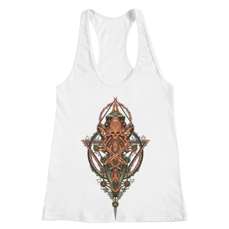 SYMBOLIC - Molten Metal Edition Women's Racerback Tank by HEXAD - Art and Apparel