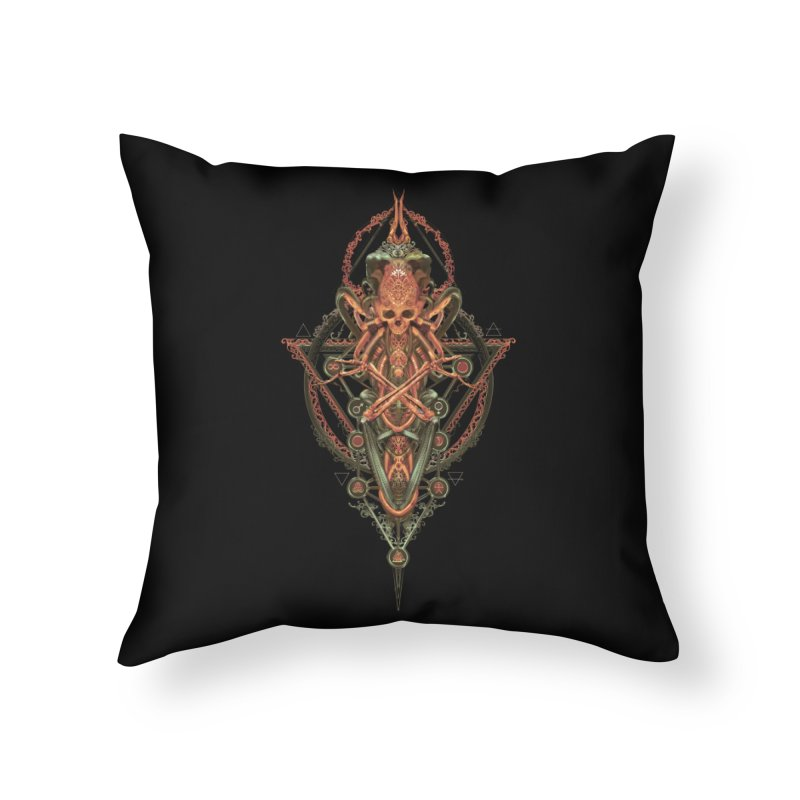 SYMBOLIC - Molten Metal Edition Home Throw Pillow by HEXAD - Art and Apparel