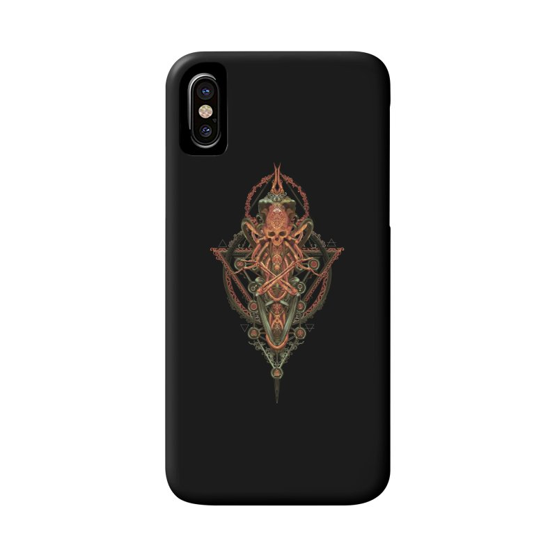 SYMBOLIC - Molten Metal Edition Accessories Phone Case by HEXAD - Art and Apparel