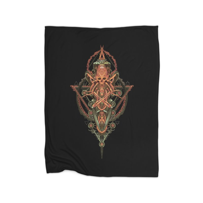 SYMBOLIC - Molten Metal Edition Home Blanket by HEXAD - Art and Apparel