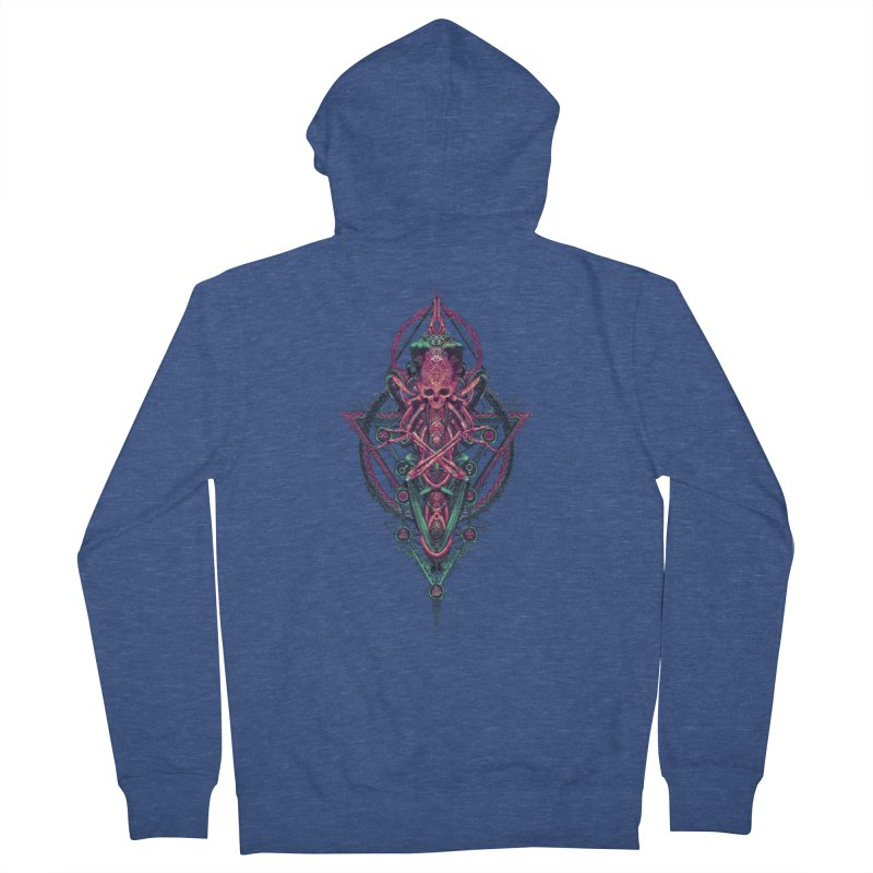 SYMBOLIC - Mystic Edition Men's Zip-Up Hoody by HEXAD - Art and Apparel