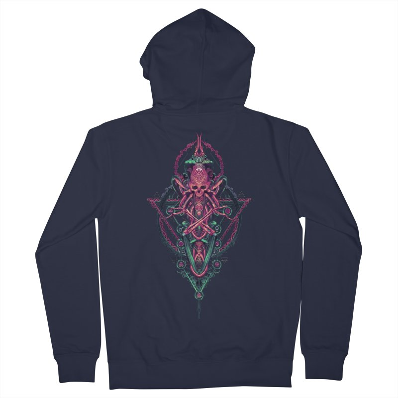 SYMBOLIC - Mystic Edition Men's French Terry Zip-Up Hoody by HEXAD - Art and Apparel