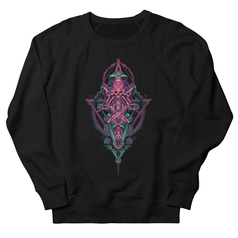 SYMBOLIC - Mystic Edition Men's French Terry Sweatshirt by HEXAD - Art and Apparel
