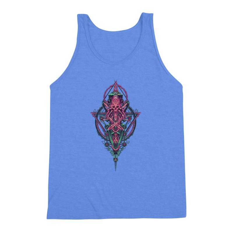 SYMBOLIC - Mystic Edition Men's Triblend Tank by HEXAD - Art and Apparel