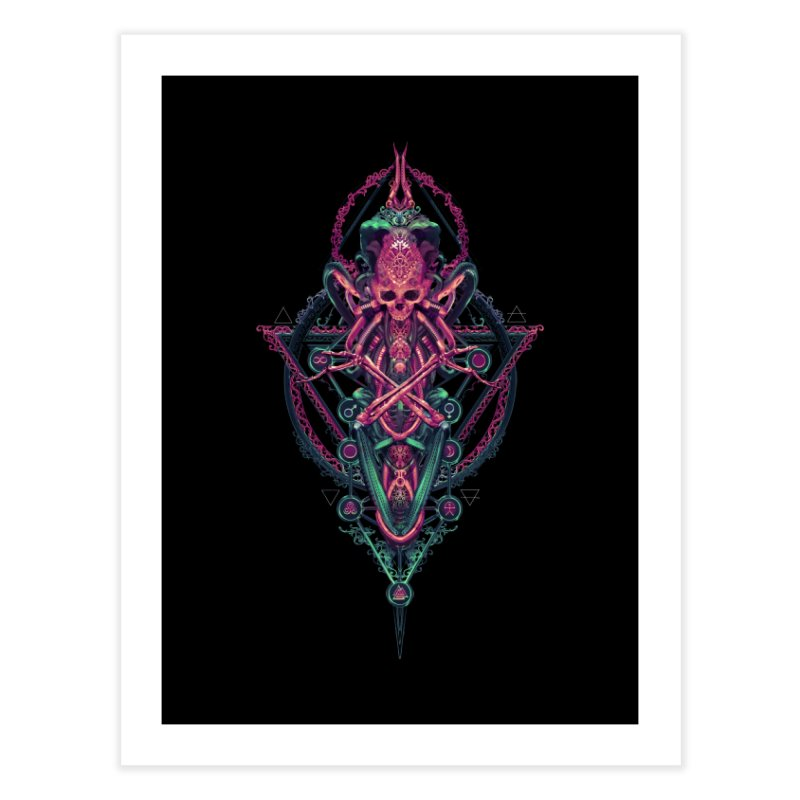 SYMBOLIC - Mystic Edition Home Fine Art Print by HEXAD - Art and Apparel