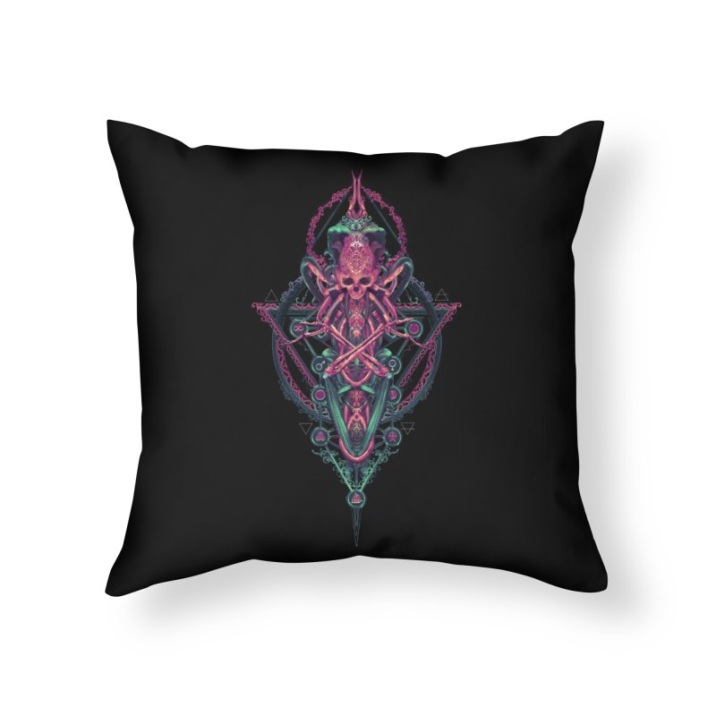 SYMBOLIC - Mystic Edition Home Throw Pillow by HEXAD - Art and Apparel