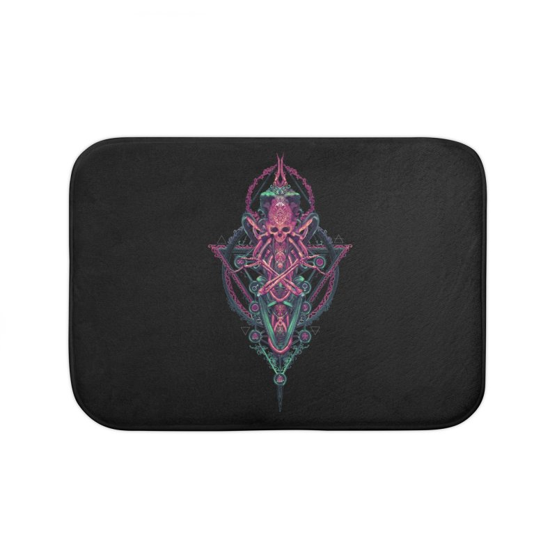 SYMBOLIC - Mystic Edition Home Bath Mat by HEXAD - Art and Apparel