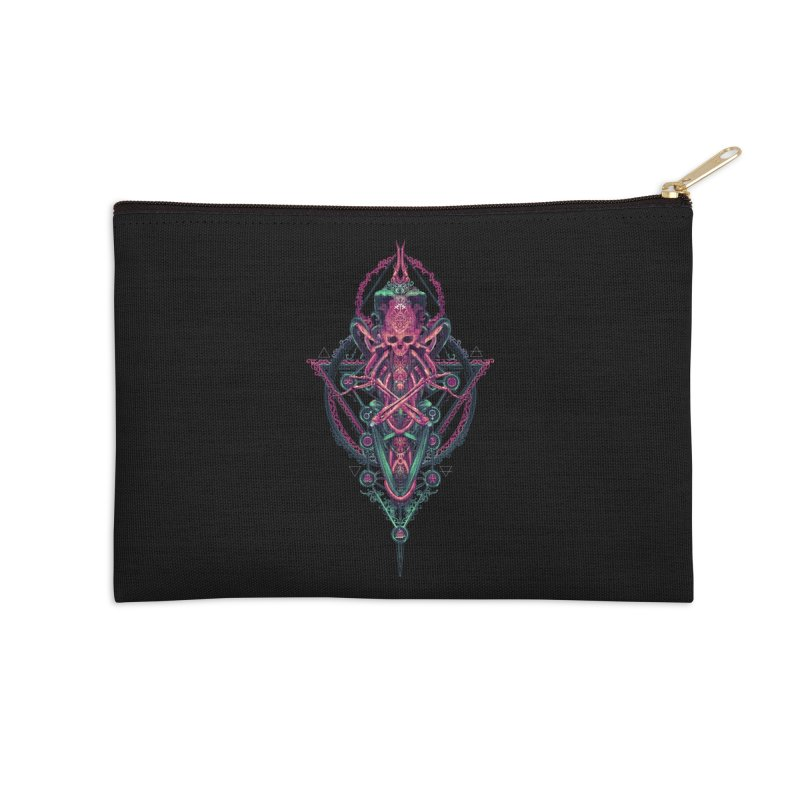 SYMBOLIC - Mystic Edition Accessories Zip Pouch by HEXAD - Art and Apparel