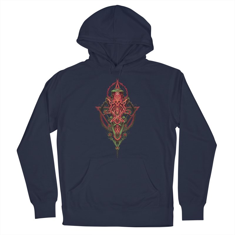 SYMBOLIC - Red Edition Men's Pullover Hoody by HEXAD - Art and Apparel