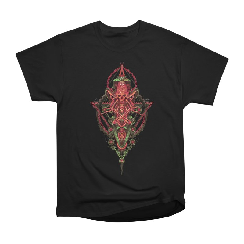 SYMBOLIC - Red Edition Women's Heavyweight Unisex T-Shirt by HEXAD - Art and Apparel