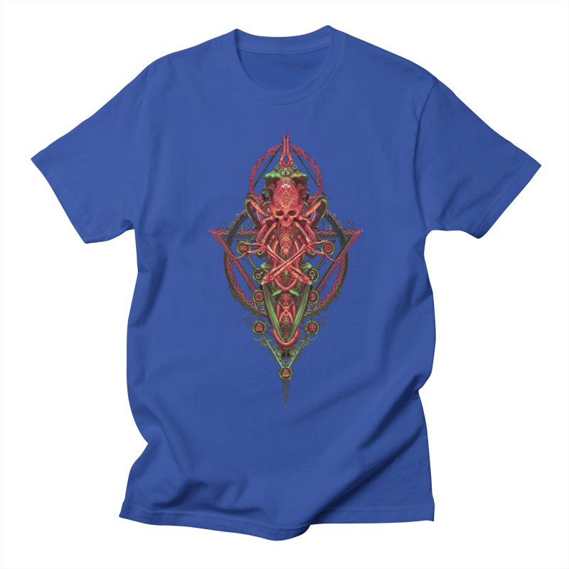 SYMBOLIC - Red Edition Men's Regular T-Shirt by HEXAD - Art and Apparel