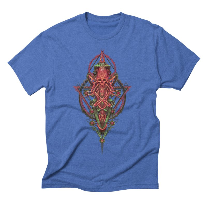 SYMBOLIC - Red Edition Men's T-Shirt by HEXAD - Art and Apparel