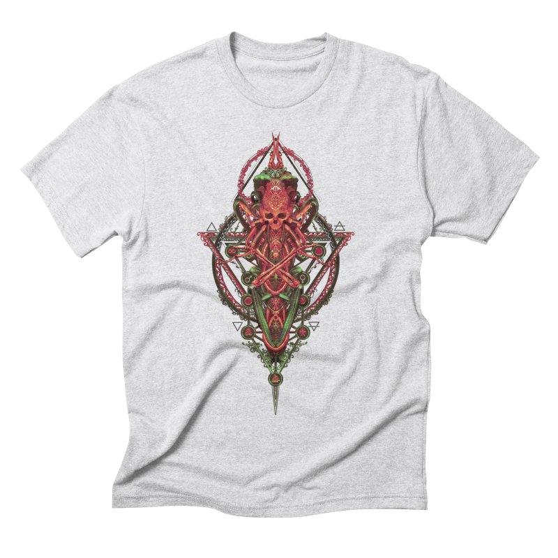 SYMBOLIC - Red Edition Men's Triblend T-Shirt by HEXAD - Art and Apparel