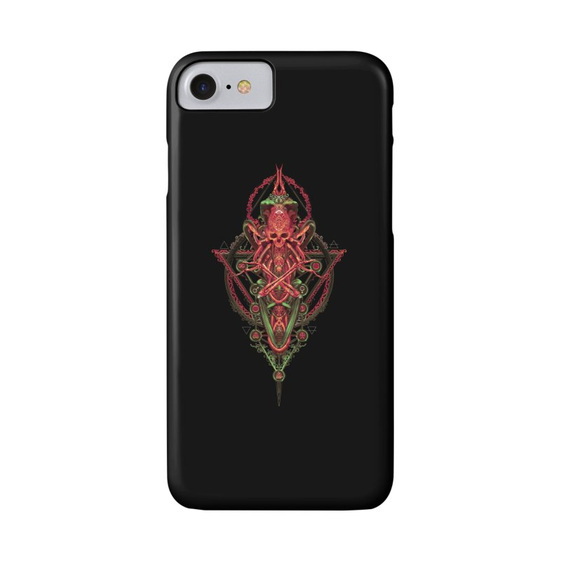 SYMBOLIC - Red Edition Accessories Phone Case by HEXAD - Art and Apparel