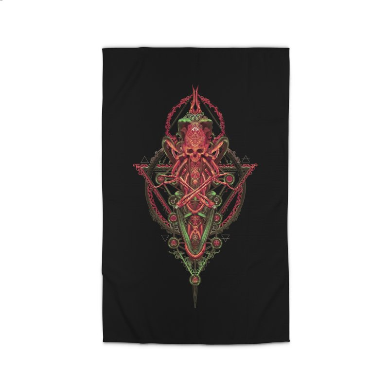 SYMBOLIC - Red Edition Home Rug by HEXAD - Art and Apparel