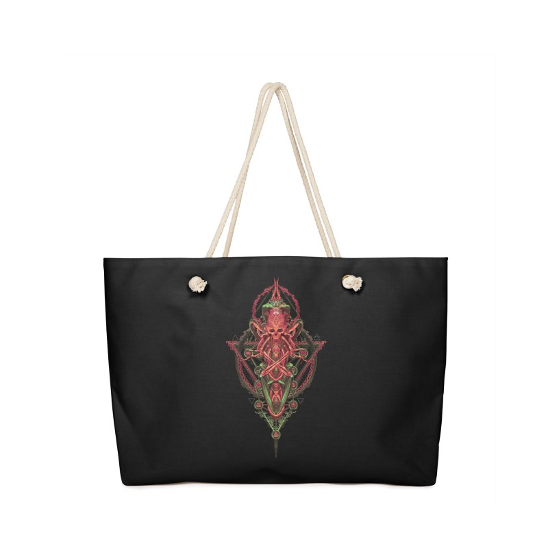 SYMBOLIC - Red Edition Accessories Bag by HEXAD - Art and Apparel