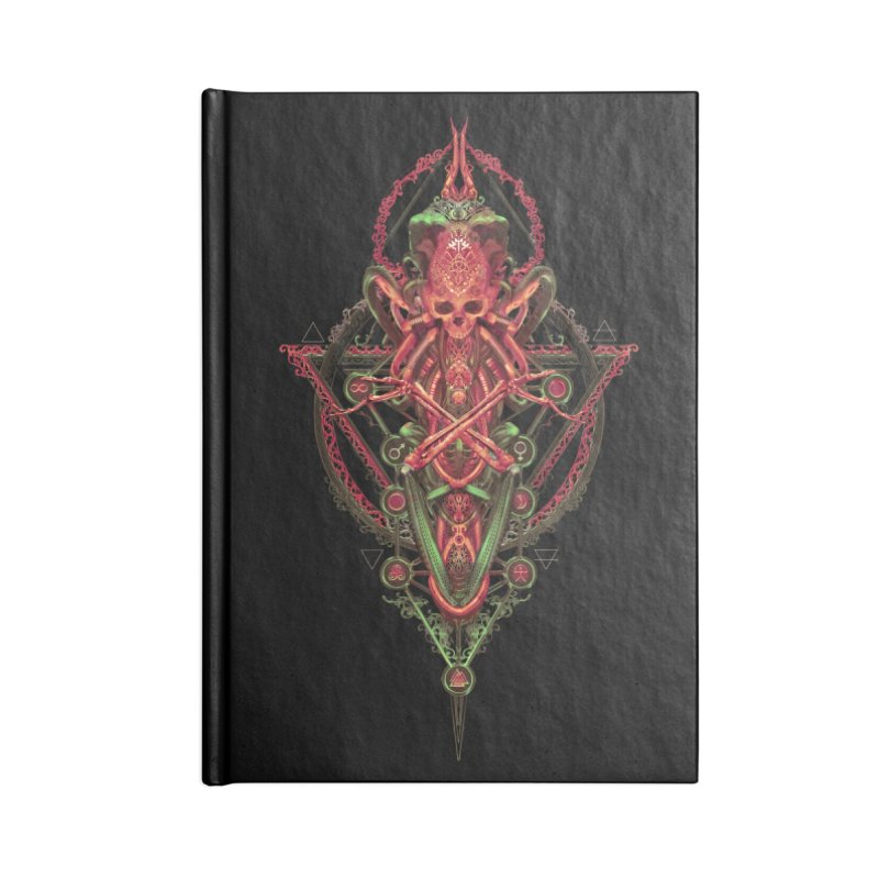 SYMBOLIC - Red Edition Accessories Notebook by HEXAD - Art and Apparel
