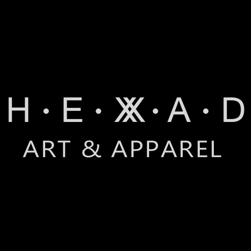 HEXAD - Art and Apparel Logo