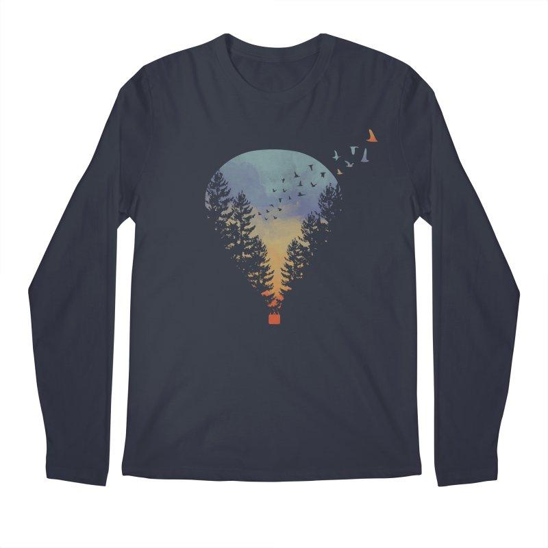 Flying Far Far Away Men's Longsleeve T-Shirt by heyale's Artist Shop