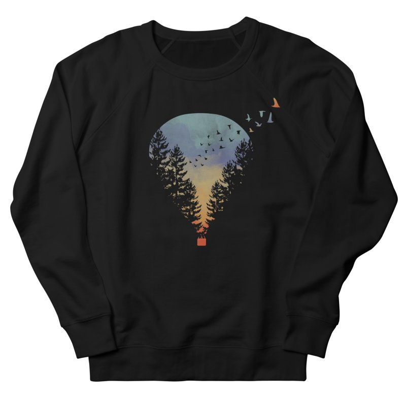Flying Far Far Away Men's Sweatshirt by heyale's Artist Shop