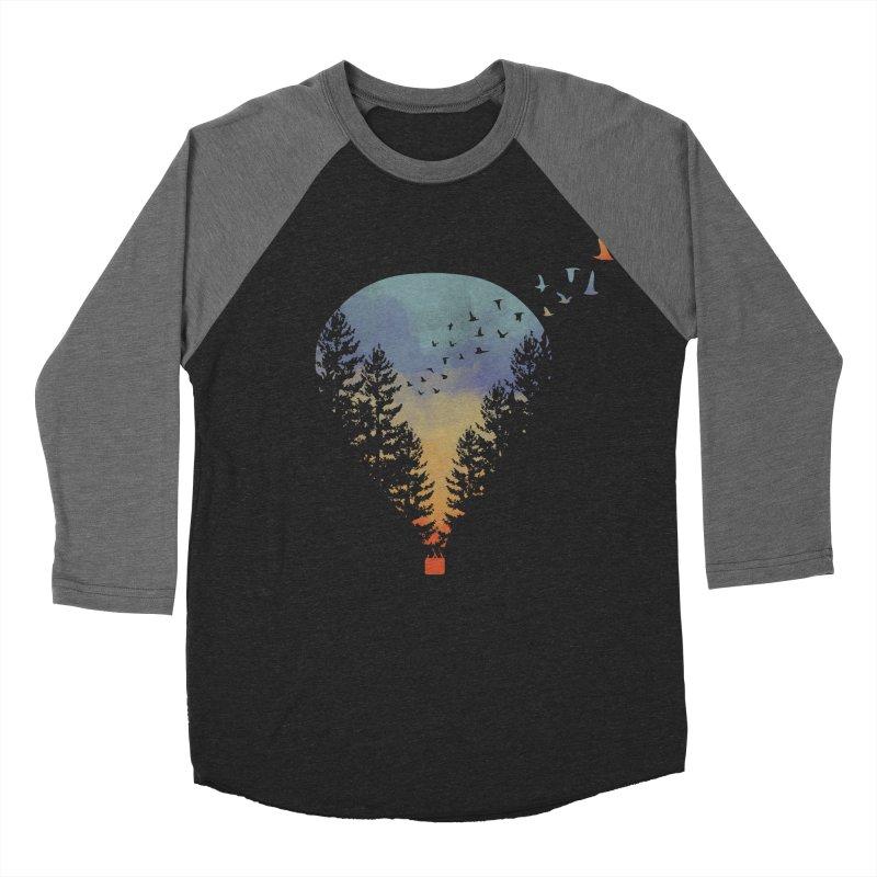 Flying Far Far Away Men's Baseball Triblend T-Shirt by heyale's Artist Shop