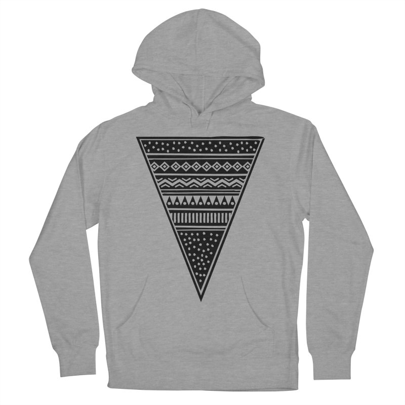 Tribal Triangle Women's Pullover Hoody by heyale's Artist Shop