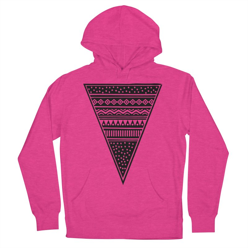 Tribal Triangle Men's Pullover Hoody by heyale's Artist Shop
