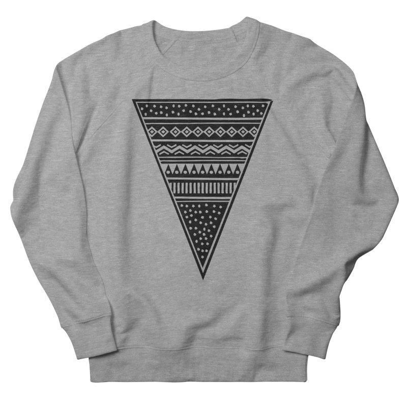 Tribal Triangle Men's Sweatshirt by heyale's Artist Shop