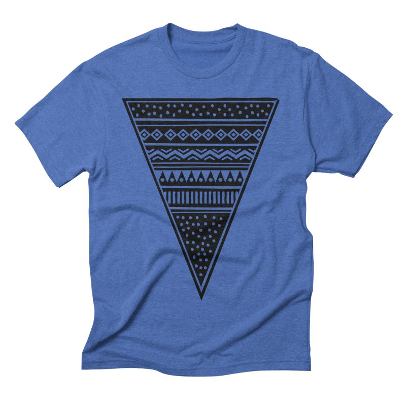 Tribal Triangle Men's Triblend T-shirt by heyale's Artist Shop