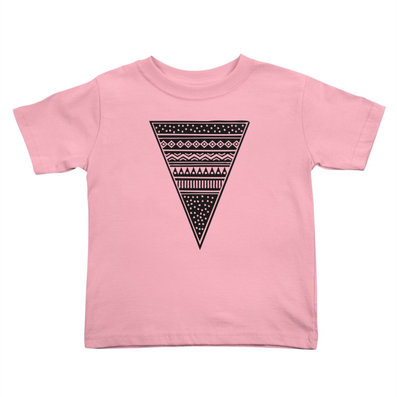 Tribal Triangle Kids Toddler T-Shirt by heyale's Artist Shop