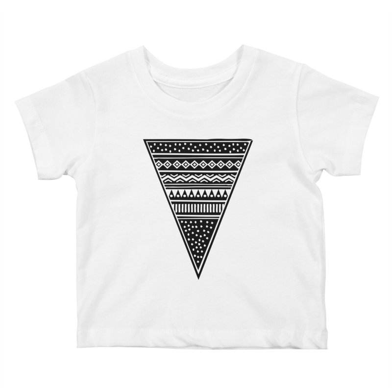 Tribal Triangle Kids Baby T-Shirt by heyale's Artist Shop