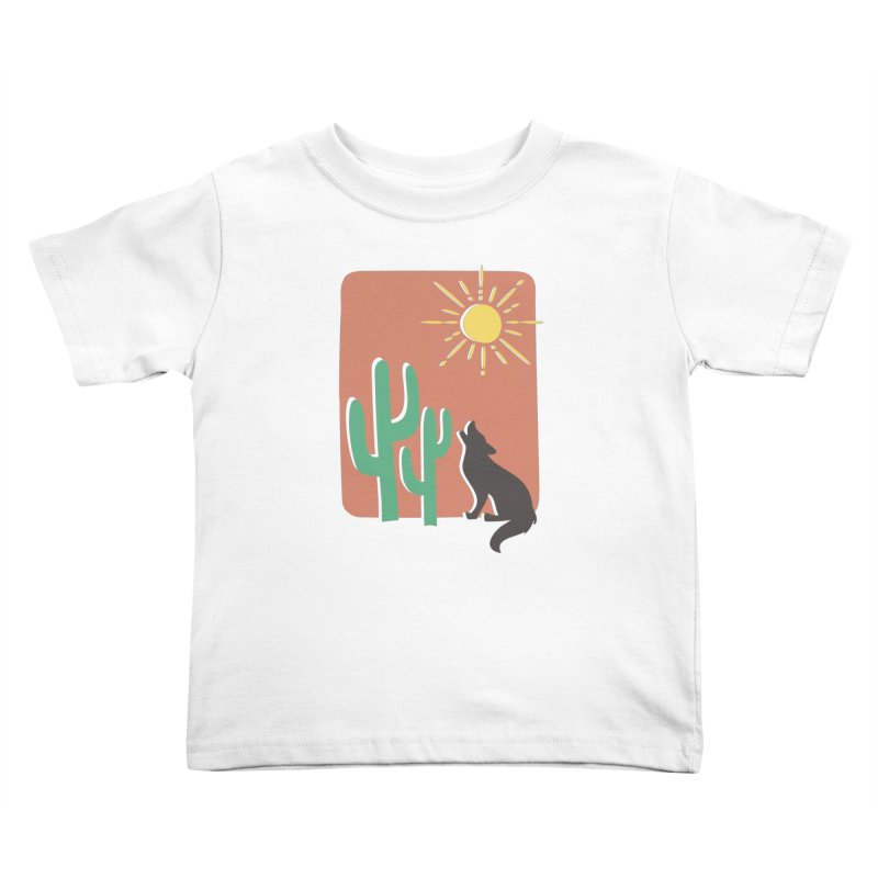 In the desert Kids Toddler T-Shirt by heyale's Artist Shop
