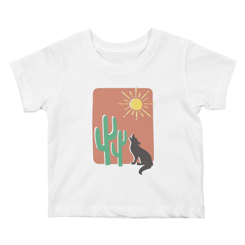 In the desert Kids Baby T-Shirt by heyale's Artist Shop