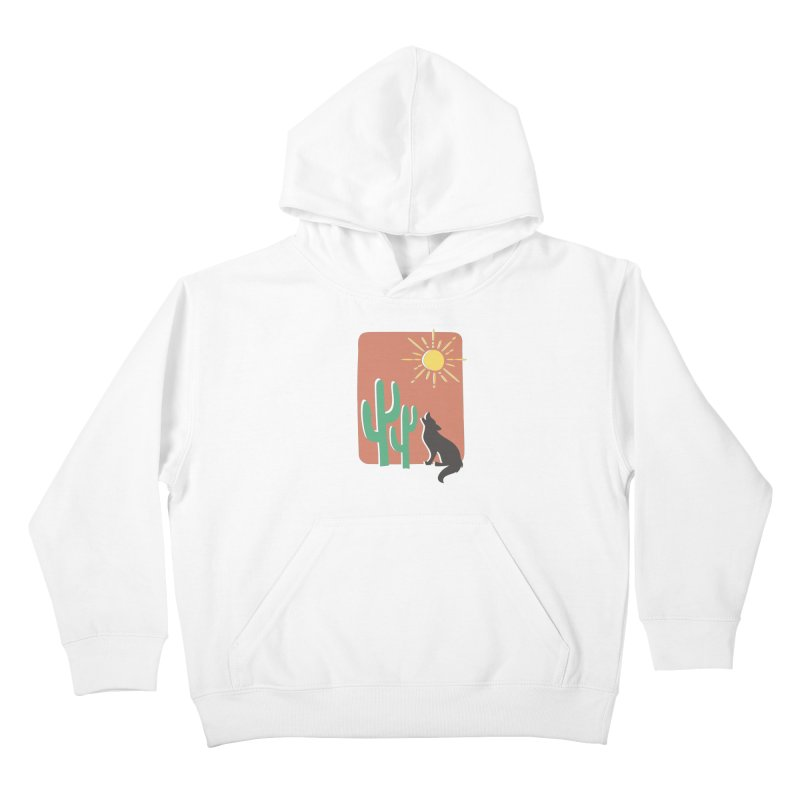 In the desert Kids Pullover Hoody by heyale's Artist Shop