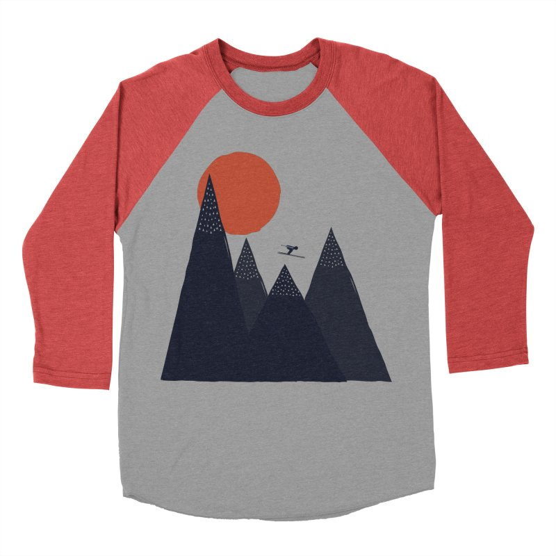 To the infinite Men's Baseball Triblend T-Shirt by heyale's Artist Shop