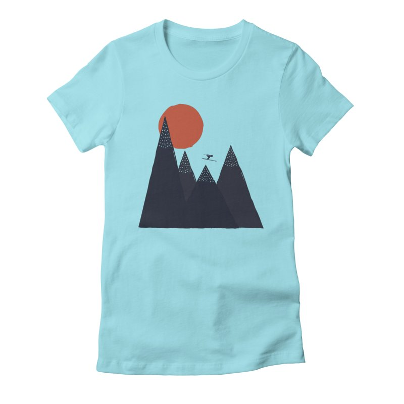 To the infinite Women's Fitted T-Shirt by heyale's Artist Shop