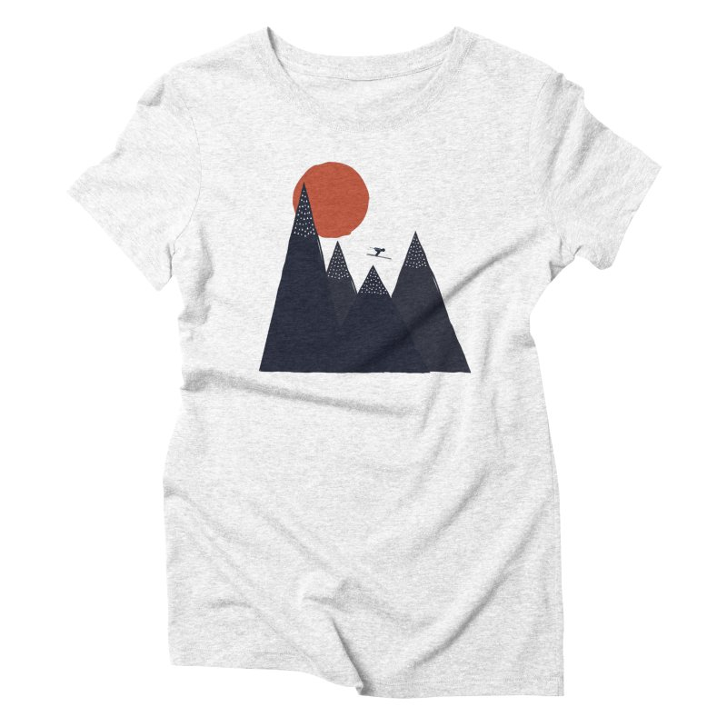To the infinite Women's Triblend T-shirt by heyale's Artist Shop