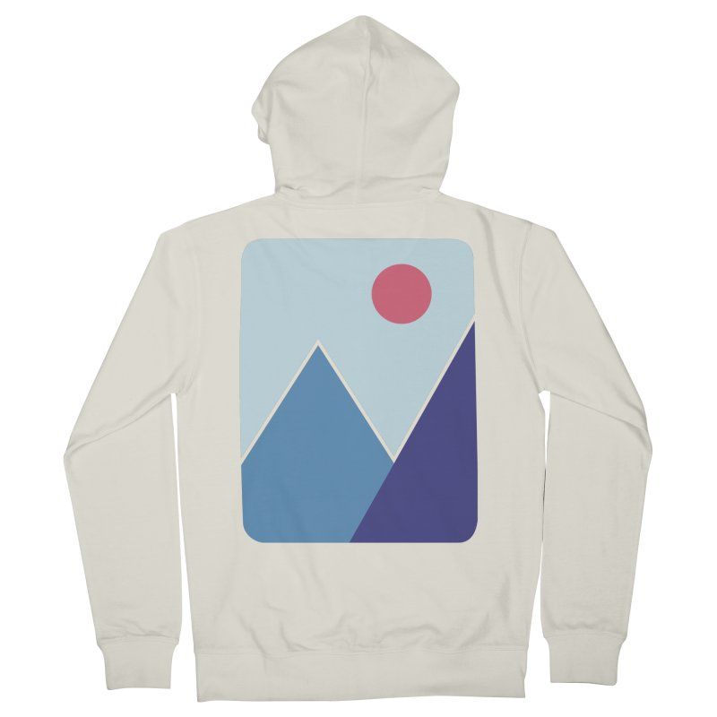 Cold Mountains Men's Zip-Up Hoody by heyale's Artist Shop