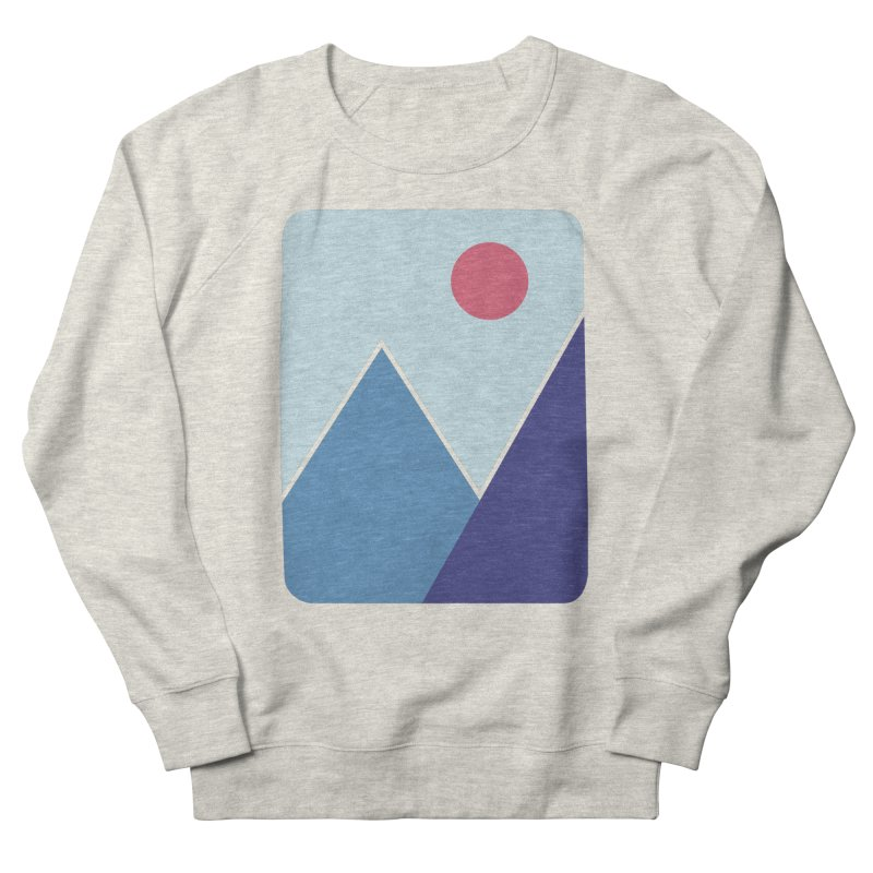 Cold Mountains Women's Sweatshirt by heyale's Artist Shop