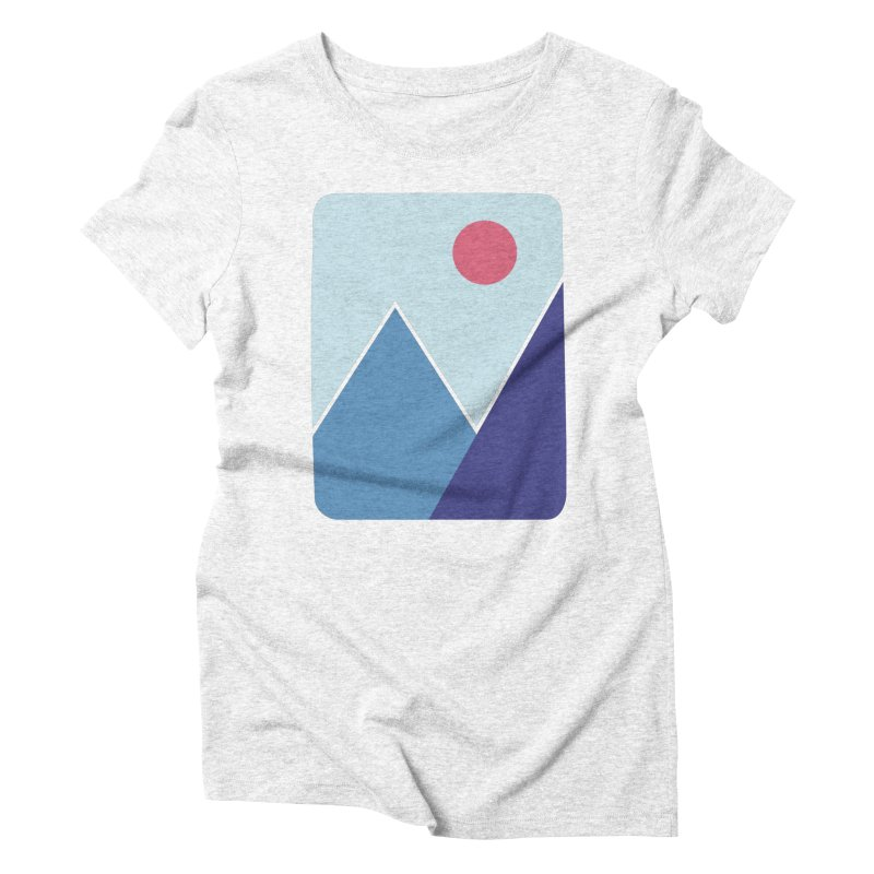Cold Mountains Women's Triblend T-shirt by heyale's Artist Shop